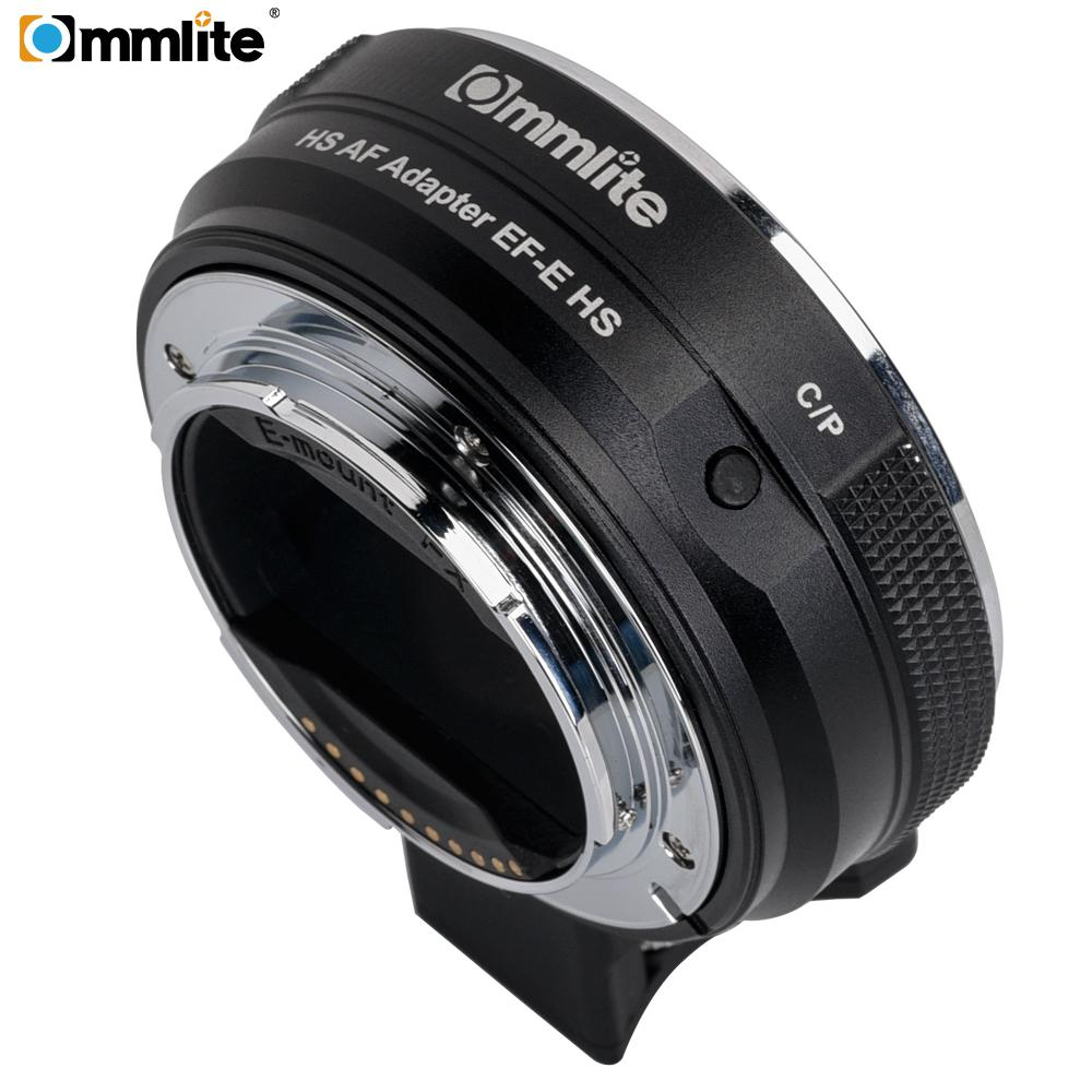 BEESCLOVER Commlite CM-EF-E HS Auto Focus Lens Adapter For Canon EF/EF-S Len For Sony E Cameras Lens Mount Adapter R25
