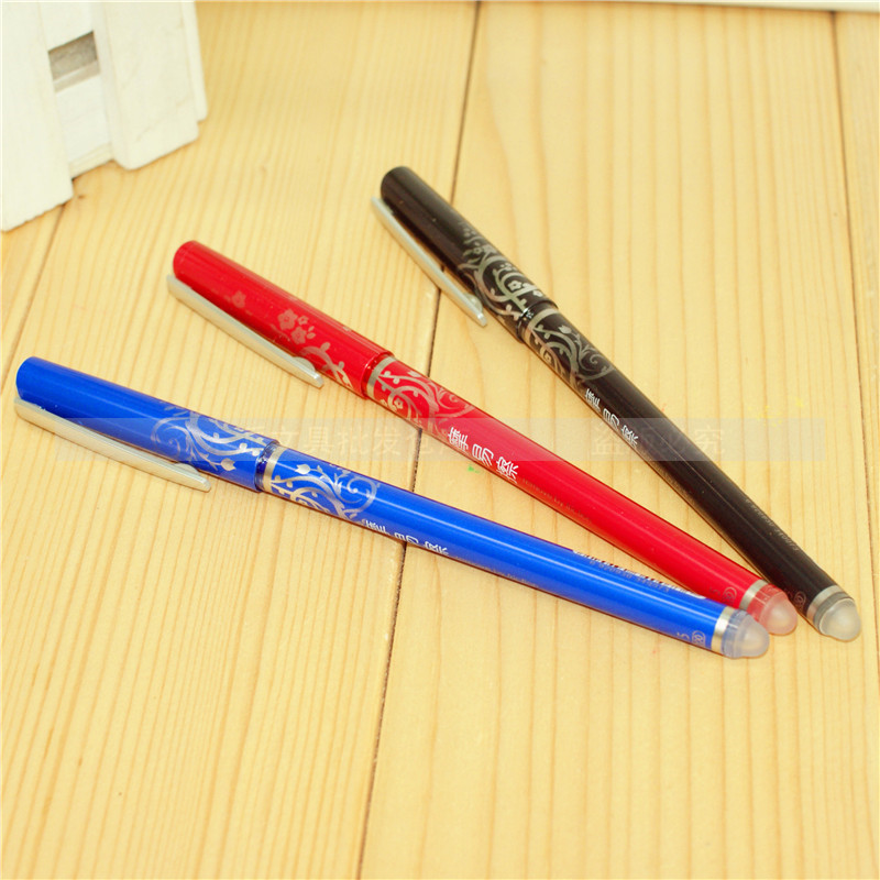 1pcs/lot Stationery 47200 erassable unisex pen erasable pen unisex 0.5 pen free shipping