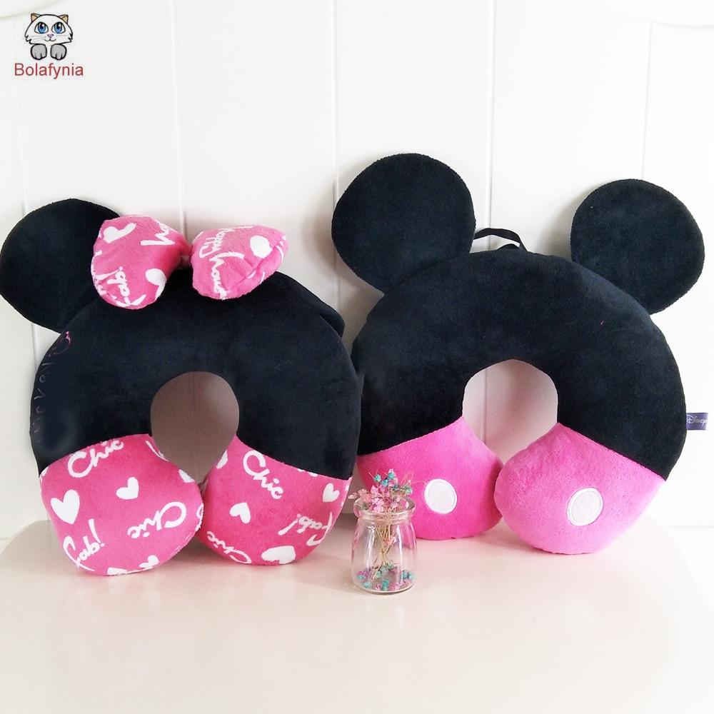 BOLAFYNIA Creativo juguete de peluche catoon U Cómodamente almohada para cuello Regalo de cumpleaños Juguete de peluche