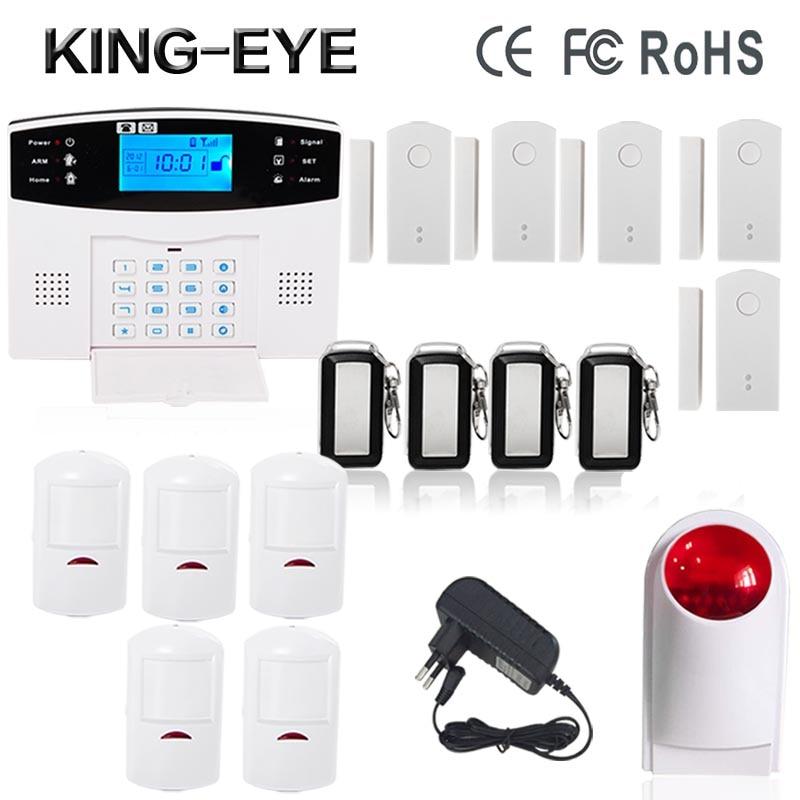 Spanish/Russian/French/Portuguese/Slovakia 433 MHz APP gsm home security alarm system wireless outdoor strobe siren door sensor slovakia 1 280 000