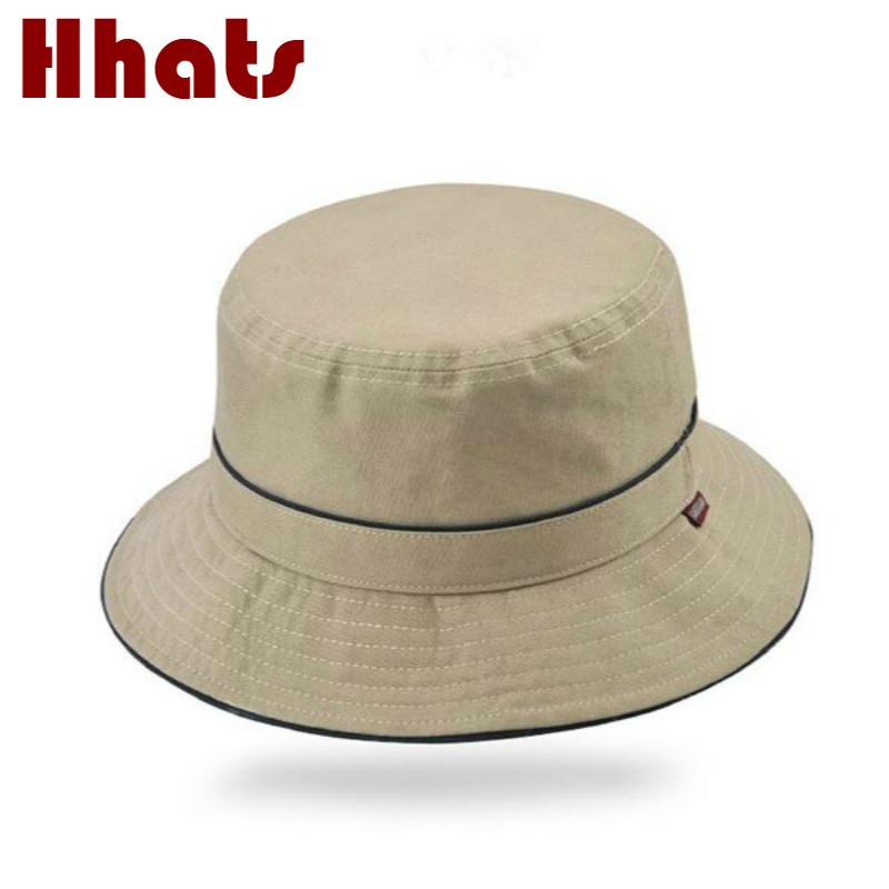 48800ef74d72f which in shower high quality cotton plain bucket hat women casual outdoor wide  brim fishing cap
