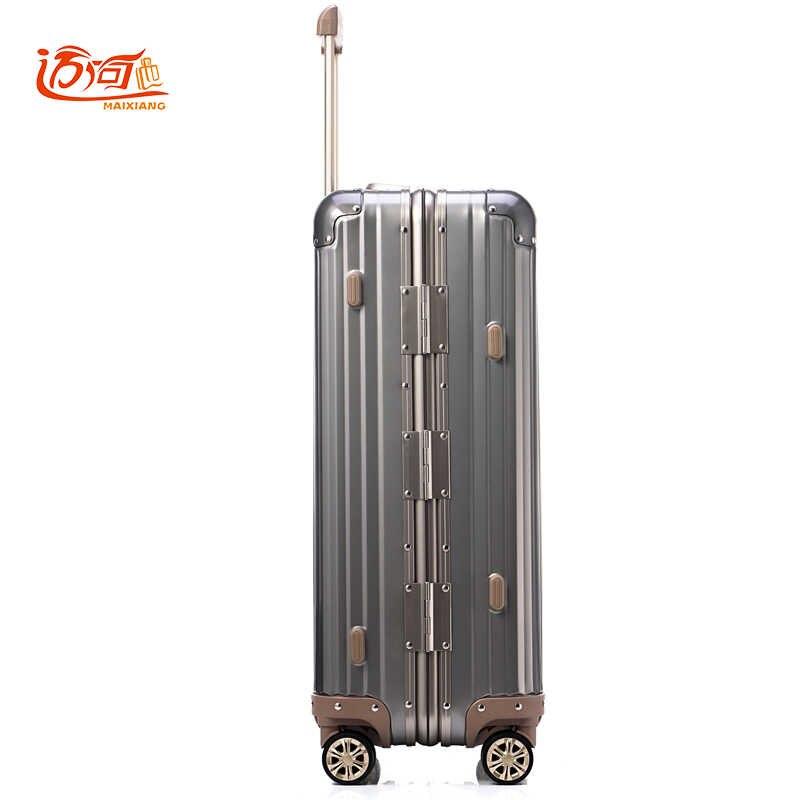 ... 20 25 полностью алюминиевый-магниевый сплав koffers тележки koffers 100%  дюймов Алюминиевый Чемодан 074dc259982