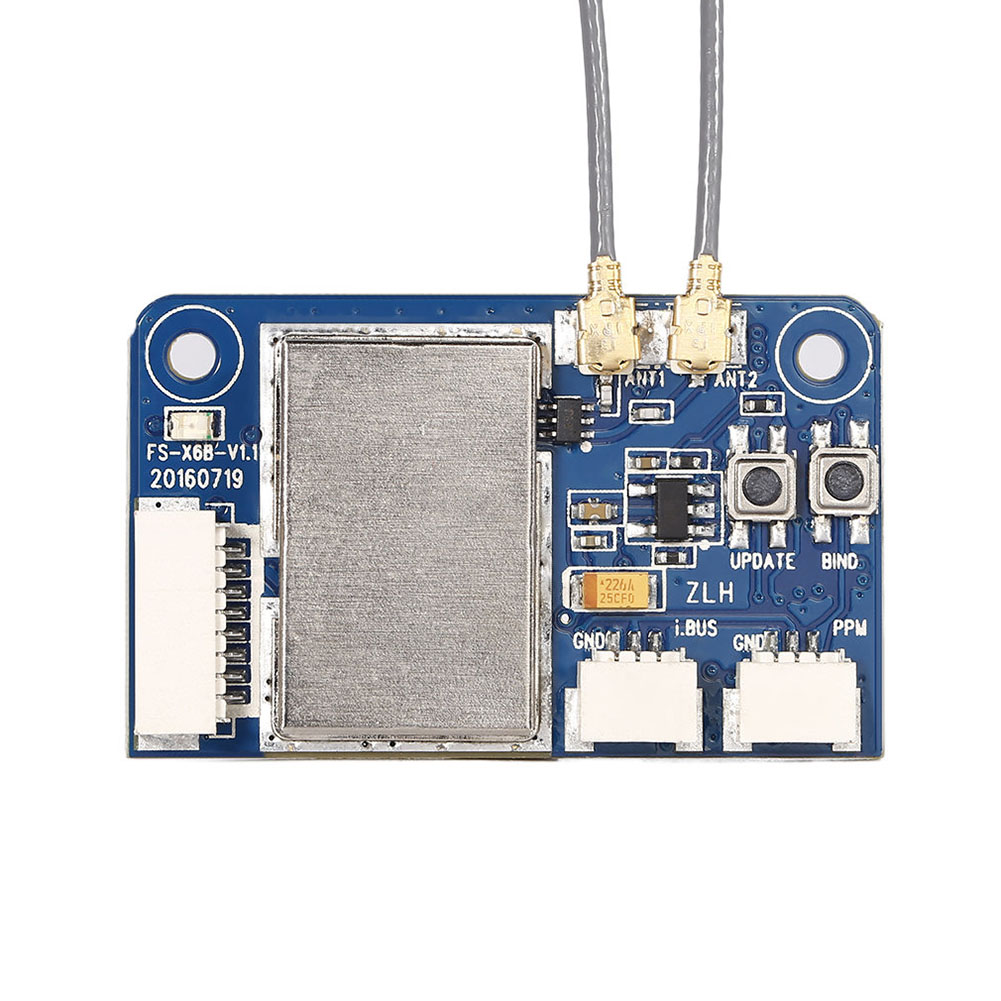 Flysky X6B 2.4G 6CH Two-way i-BUS PPM PWM Receiver Transmit For AFHDS i10 i6s i6