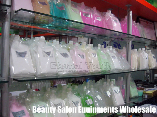 1 KG aumentó Toner hidratante Facia hidratante PH equilibrio de células madre 1000 ml Beauty Salon Equipment Wholesale