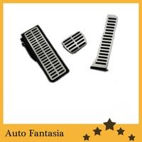 Aluminium Pedal Caps (Auto Transmission) for Volkswagen Golf MK6 free shipping