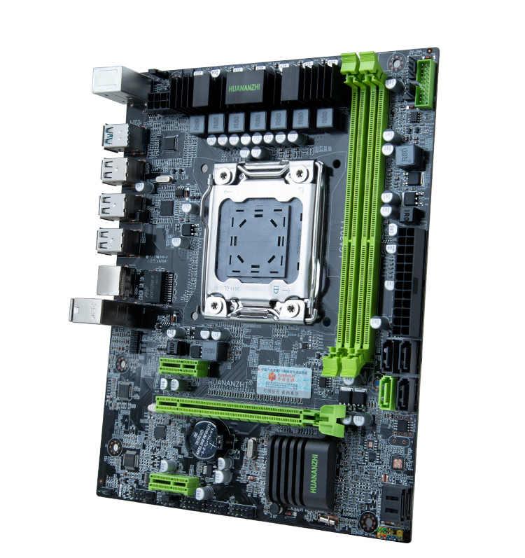 HUANANZHI X79 M-ATX اللوحة حزمة خصم اللوحة مع وحدة المعالجة المركزية إنتل زيون E5 2680 V2 6 أنابيب برودة RAM 32G (2*16G) RECC