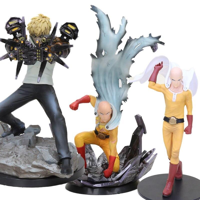 Doll Figure-Toy Collectible-Model Saitama Genos Anime One-Punch man for Children Sensei