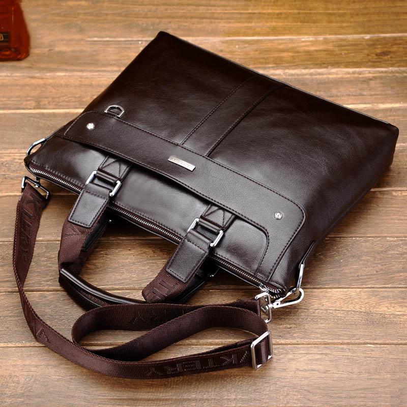 Fashion Men Briefcase Male Business Handbag Men Brand Luxury Laptop Bag High Quality Men Messenger Shoulder Bags