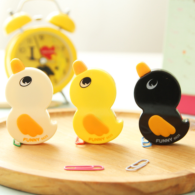 Creative Duckling Correction Tape Cartoon Duck Animal Corrective Tapes For Kids Students Gift School Supplies Cute Stationery 6M