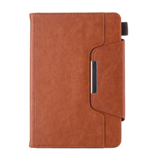 For iPad Mini 1 2 3 4 Business Case Smart Cover Flip Magnetic PU Leather Wallet Case for iPad Mini 4 Stand Cover with Card Slots стоимость