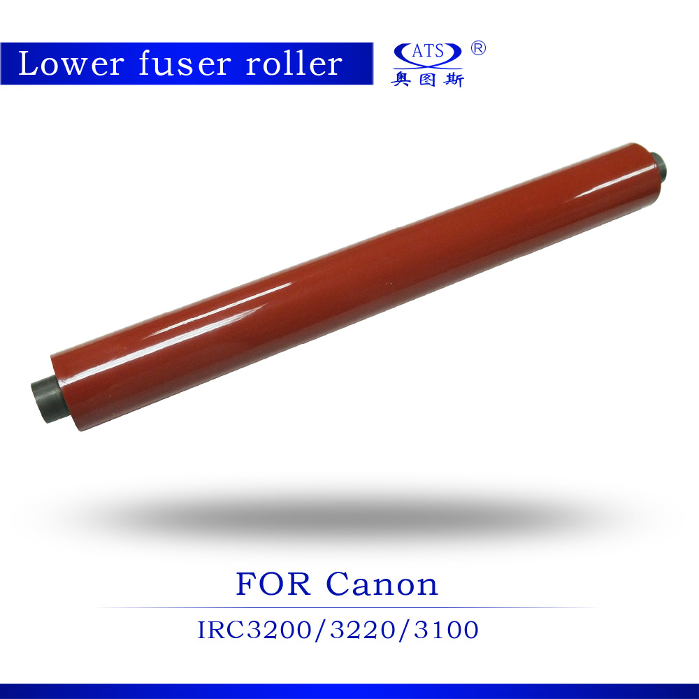 1pcs Photocopy Machine Pressure Roller For Canon IRC3200 3220 3100 Lower Roller Fuser Roller rd pcr3380 high quality primary charger roller pcr for canon imagerunner irc3200 irc3220 ir c3200 c3220 irc 3200 3220 free dhl