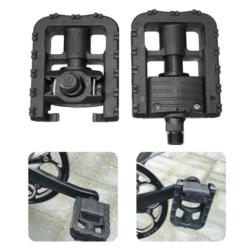 1 Pair Bicycle Cycling Foldable Pedals Foot Pegs Mountain Road Bike Pedals Gear