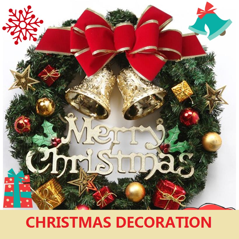 Popular luxury christmas wreath buy cheap luxury christmas for Exclusive christmas decorations