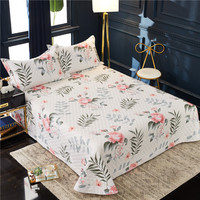 Famvotar Elegant Floral Quilted Coverlet Bedspread Set With Sham All season Bedspread Colorful Plant Blooms Summer Bedspreads