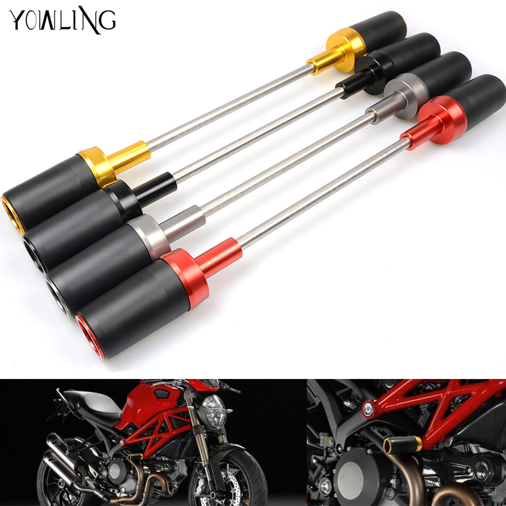 Motorcycle Frame Slider Crash Protector Falling Protection for DUCATI Monster 696 796 795 monster696 monster795 monster796 1100