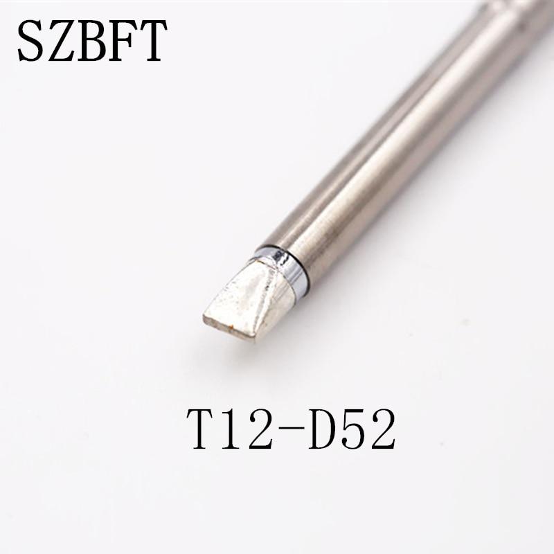 SZBFT 1 piezas para estación de soldadura Hakko t12 T12-D52 Puntas - Equipos de soldadura - foto 2
