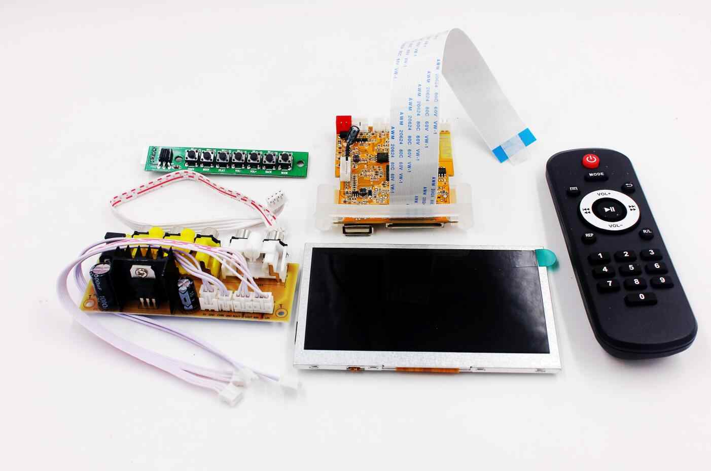 Wireless Bluetooth Audio Video Decoder LCD Screen DTS