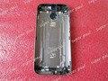 Оптовая продажа задние детали корпуса чехол для HTC One M8 батарейного отсека задняя крышка с карты лоток кнопки, Бесплатная доставка