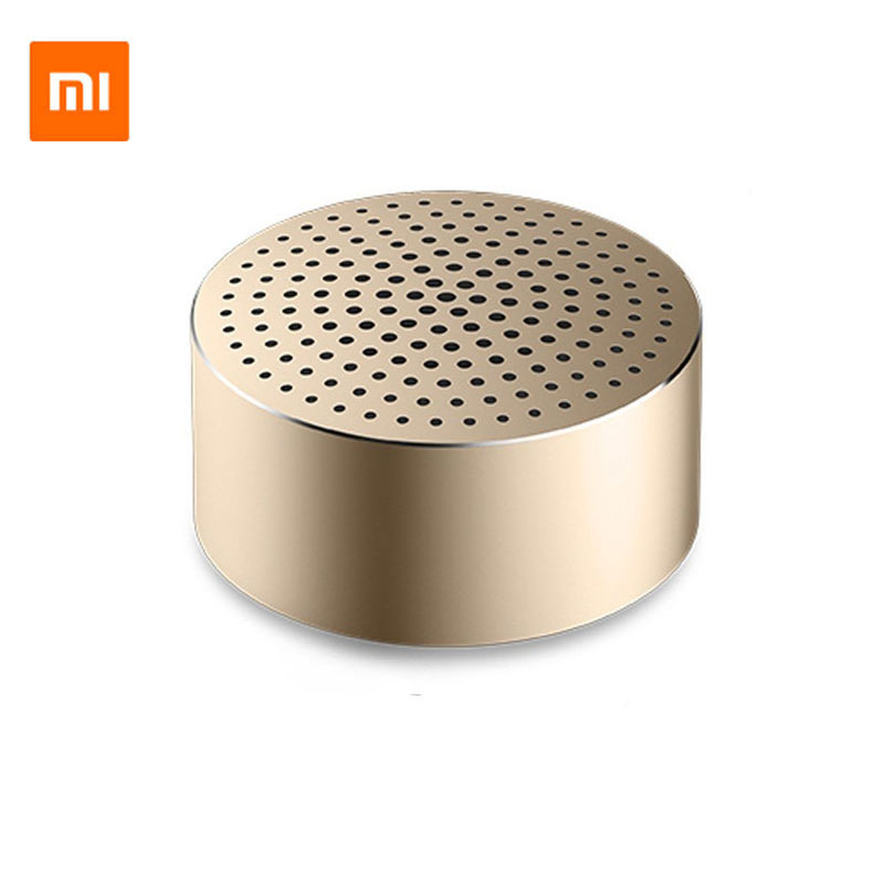 Original Xiaomi Mi Bluetooth Speaker mini Portable Stereo sound Music Player xiomi Mi Bluetooth Speaker khf301 mini golf ball shape bluetooth v3 0 music speaker deep pink white