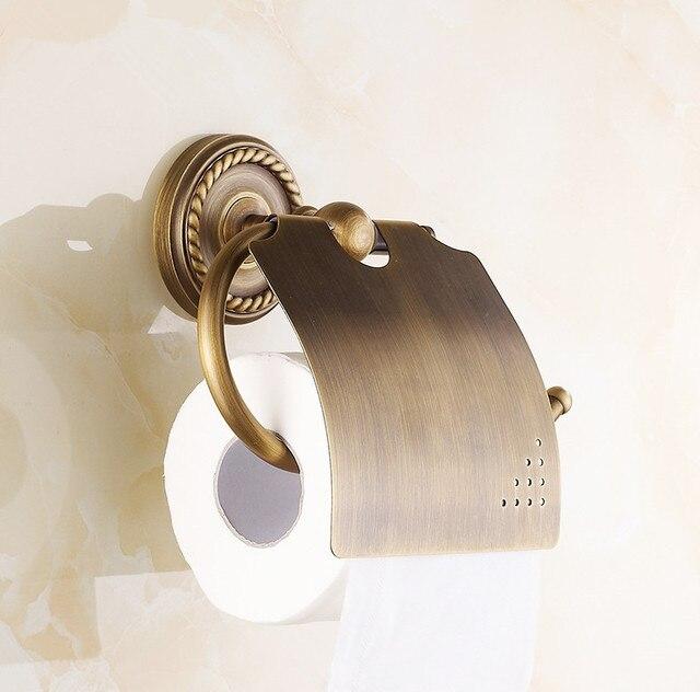 US $17.59 20% OFF 2016 vintage Antike Bronze Design Badezimmer  Toilettenpapierhalter, Rollenhalter, Bad accessoires in 2016 vintage Antike  Bronze ...