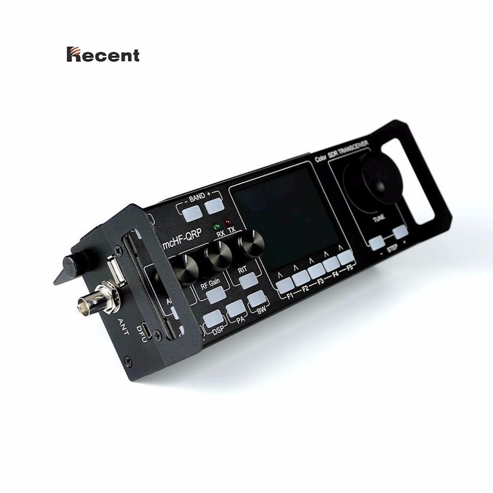 Récente RS-918 SSB HF DTS Émetteur-Récepteur 15 w Puissance D'émission Mobile Radio RX: 0.5-30 mhz TX: toutes les Bandes de jambon Multifonctionnel Instrument