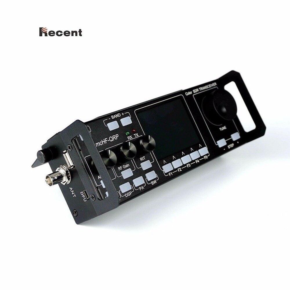 Ultimi RS-918 SSB HF SDR Ricetrasmettitore 15 w Potenza di Trasmissione Mobile Radio RX: 0.5-30 mhz TX: tutti i ham Fasce Strumento Multifunzionale
