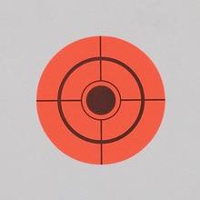 Hot 250pcs Targets Stickers 7.5cm Diameter Self Adhesive For Shooting Outdoor Indoor MCK99