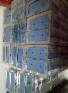 Image 1 - 100 Chiếc Keo Chống Nước Miếng Dán Kính Cường Lực iPhone XS Max X 6S 7 8 Plus Cắt Sẵn Keo Dán Mặt Trước nhà Ở Màn Hình Khung Liên Kết Băng