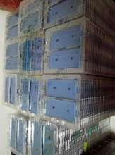 100PCS สติกเกอร์กันน้ำสำหรับ iPhone XS MAX X 6S 7 8 PLUS Pre Cut กาวด้านหน้าที่อยู่อาศัยหน้าจอ LCD กรอบ Bonding เทป