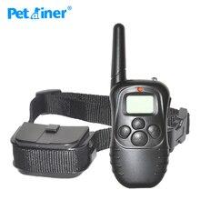 Petrainer 998D 1 300M LCD תצוגת שלט רחוק סטטי הלם אנטי לנבוח כלב חיית