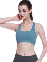 Women Sport Bra Top Yoga Brassiere Fitness Sports Tank Female Underwaer Push Up S-XL