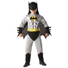 Vendita calda Bambino Ragazzo Muscolare Batman DC Comic Superhero Movie Personaggio Dei Cartoni Animati Vestito Operato Da Cosplay di Halloween Costumi di Carnevale Del Partito