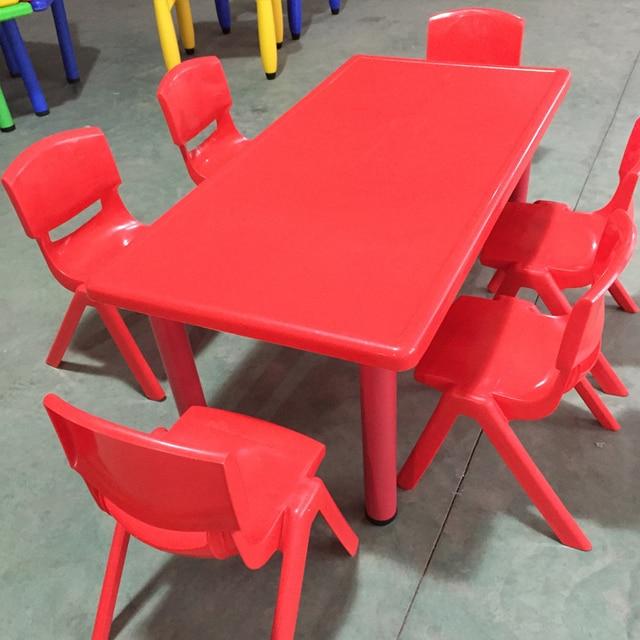 Tavoli Per Bambini In Plastica.Bambini Dell Asilo Tavoli E Sedie Di Plastica Ambientale Scrivania
