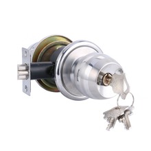 Бесплатная доставка! HF-Q-02 Высококачественная Нержавеющая Сталь Цилиндрические Дверные Замки/Бал Блокировка/Фиксатор