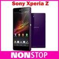 Teléfono móvil abierto original de sony xperia z l36h sony l36h 16 gb quad-core gsm wifi gps 5.0 ''sony xperia c6603 c6602