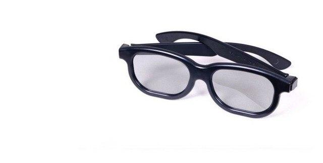 1a02a471aca8e Armação de Plástico óculos 3d polarizados linear polarizada filme óculos 3d  polarizados lineares óculos 3d