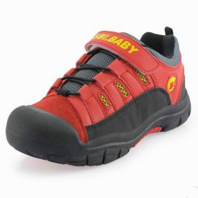 Kids Hiking Shoes 2018 New Running Walking Shockproof Non-slip Outdoor Sport Shoes For Boys Girls Size 31~39 forudesigns kids sport shoes boys girls for children walking cycling running nebula pringting lace up sneaker shoes outdoor