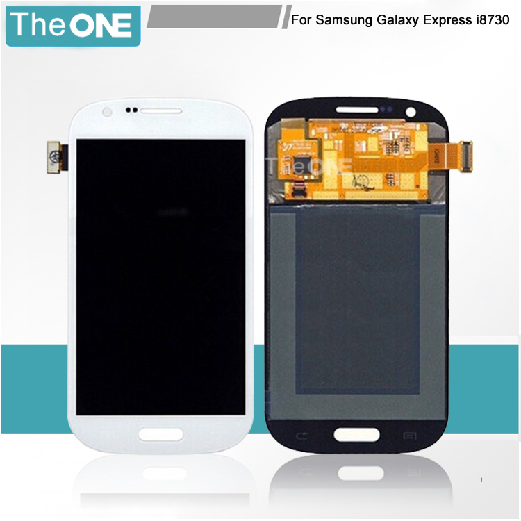 ФОТО Free DHL LCD Display For Samsung Galaxy Express i8730 LCD Screen Touch Digitizer Replacement Tested One by One