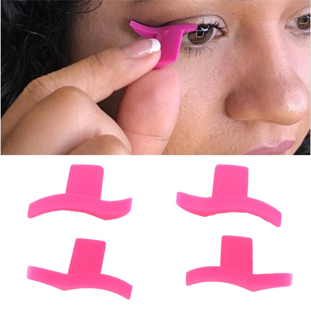 2pcs Eyeliner Mold Wings Seal Stamps Easy To Wear Eyes Wing Liquid Eye Liner Tools Maquiagem Beauty Portable Cosmetic Delineador