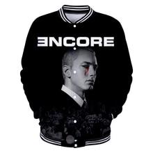 La Moda de Nueva diseño hombres mujeres Hoodies 3D impresión Eminem Hip Hop  Hooded Tracksuit Casual sudadera sudaderas Mujer ad42974d6a7