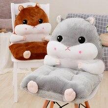 Домашний декор, мягкая подушка для сидения в виде животных, зимние офисные подушки под спину и на сиденье стула, диванная подушка, полипропиленовые хлопковые детские подушки B334