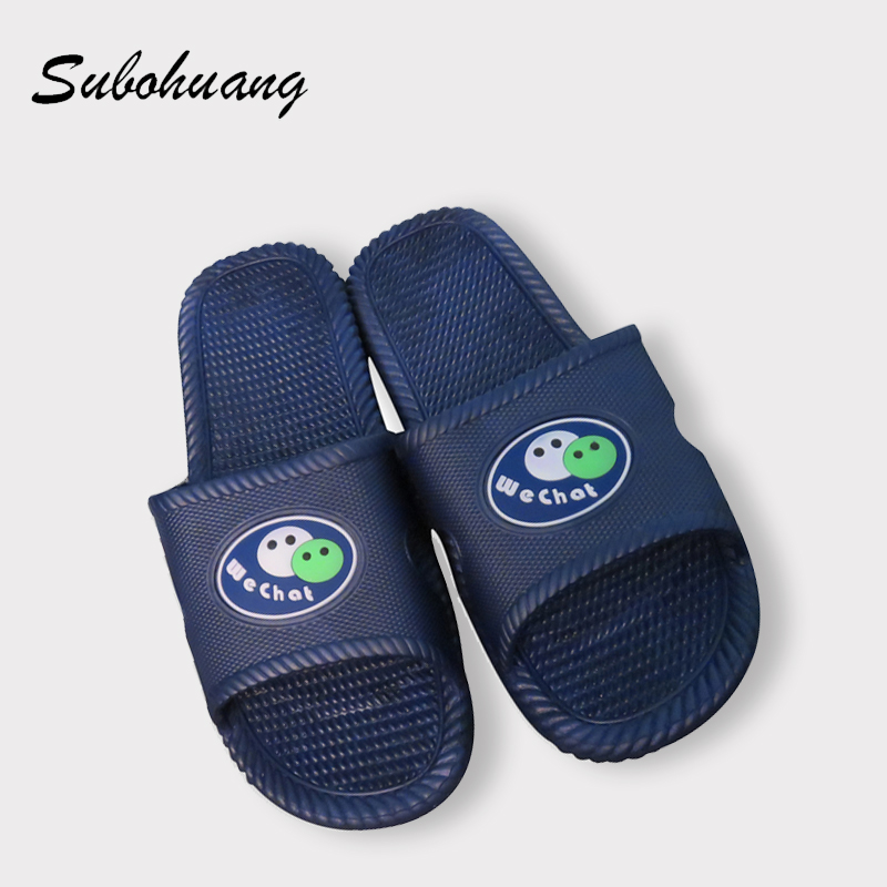 Men's Slippers Beach Sea Leisure Shoes Non-slip Bottom Of The Massage  Slippers WeChat Sandals 2017 New Hot Selling Preferential