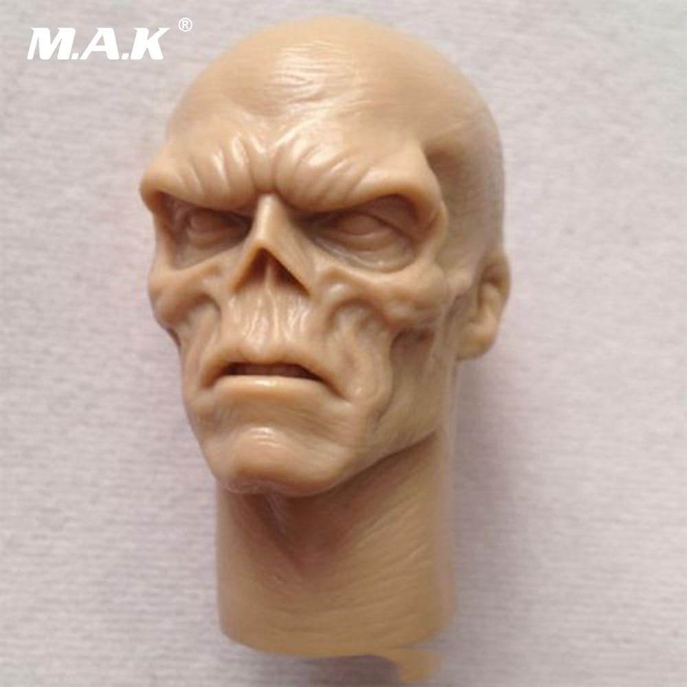 "1//6 Male head Sculpt Red Skull Smith Hugo Vivian for 12/"" body Action Figure"