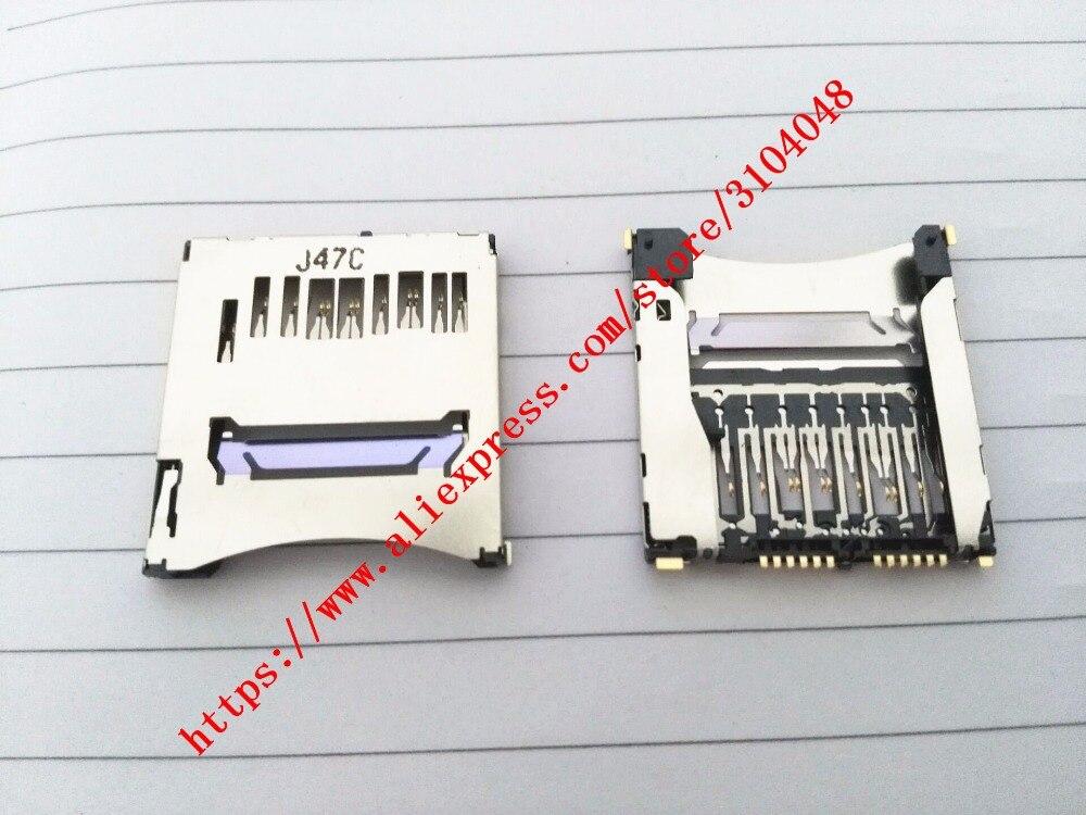 Original New SD Memory Card Slot Holder For Canon 70D For Nikon D810 D3300 SLR  Repair Part (Tracking Code)