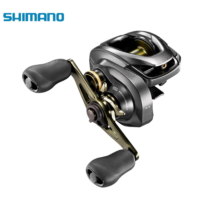 SHIMANO nouveau CURADO DC Original 150 151 150HG 151HG 150XG 151XG 7BB 6.3/7.3/8.1: 1 moulinet de pêche Baitcasting à profil bas