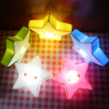 Lamps LED Star Night Light Novelty Luminaria Decorative Children Table Mini Portable Baby Lights Moon Party Bedroom Lamps