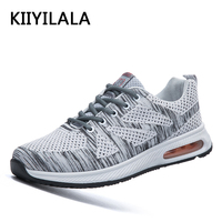 KIIYILALA Max Running Shoes Sports Bona Mens Sneakers Breathable Mesh Air 90 Light Lace Up Running Shoe Outdoor