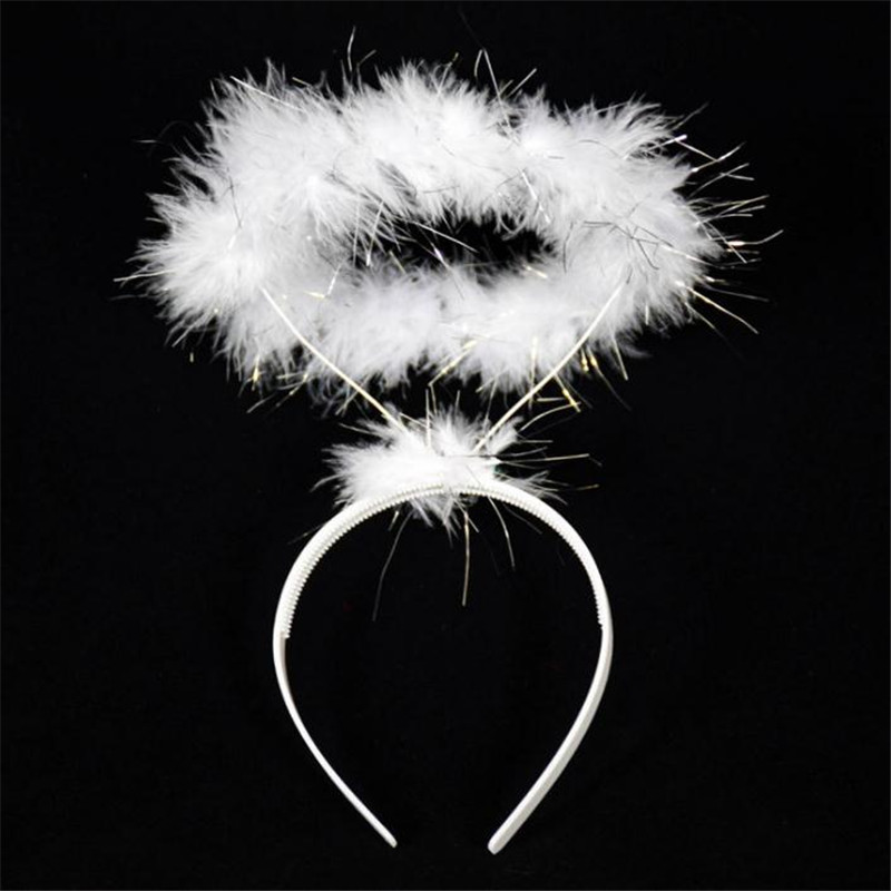 Anime Cosplay Angel Garland Headdress Cosplay Costume Prop Accessories Bar Cos Christmas Party Halloween Costume For Kids Women