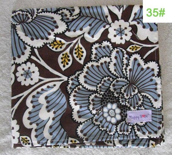 Крышка для грудного вскармливания, дышащая хлопковая муслиновая ткань для кормления, крышка для кормления - Цвет: 35