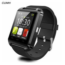 CUJMH U8 Smart Watch Clock Sync Notifier Support Bluetooth Connectivity For Android Phone Smartwatch PK GT08 DZ09 GV18